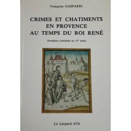 Procès criminel au temps du roi René