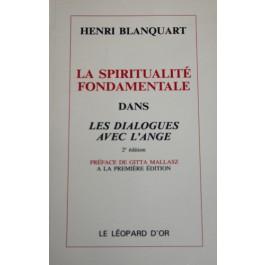 """La spiritualité fondamentale dans les """"dialogues avec l'ange"""""""