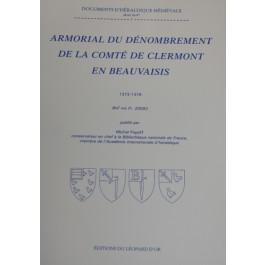 armorial du denombrement de la comté de clermont en beauvaisis