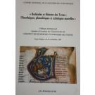 Recherche et histoire des textes